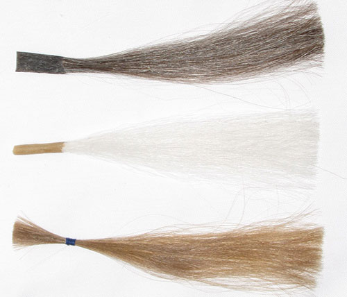 Custom Made Wigs - Swatches