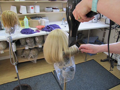 Wig Cleaning and Re-Dressing Service